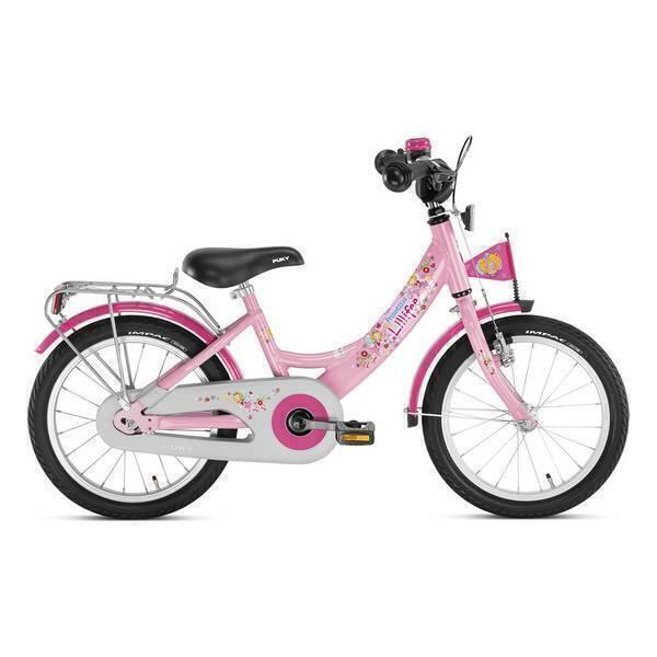 "Puky - Vélo EnfantZL 16"" Alu Rose Lillifee - Dès 4 ans"