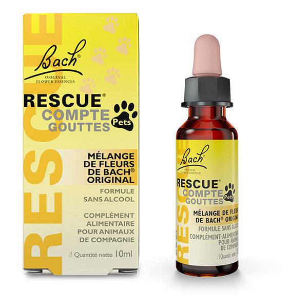 RESCUE® - Lot de 2 x Rescue Remedy Pets compte-goutte 10ml