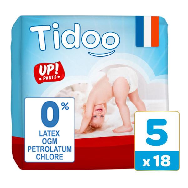 Tidoo - 18 Culottes d'apprentissage T5 12-18kg  Nature