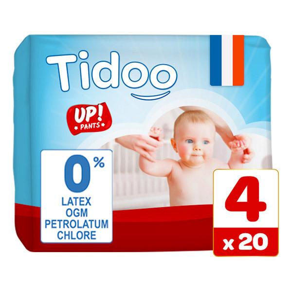 Tidoo - 20 Culottes d'apprentissage T4 8-15kg  Nature
