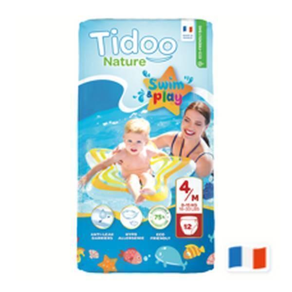 Tidoo - 12 culottes Swim & Play - T4M, 8-15 kg
