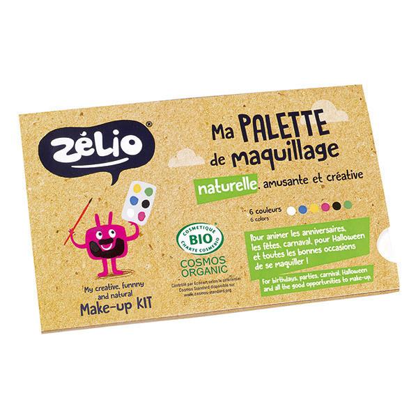 Zélio - Palette de maquillage naturelle Enfant