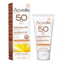 Acorelle - Creme Solaire visage SPF50 50 ml
