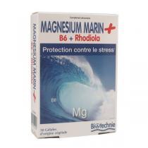 Biotechnie - Magnésium Marin + B6 + Rhodiola x 90 gélules