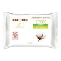 Bocoton Bio - Lingettes démaquillantes Bio x 20
