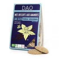 Dao - Biscuits Amandes Vanille Gingembre Sans Gluten 90g