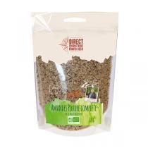 Direct producteurs Fruits secs - Amandes poudre complète de la vallée de Pinoso -375gr