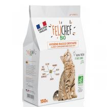 Felichef - Lot de 2 x Friandises bio Hygiène bucco dentaire chat 150g