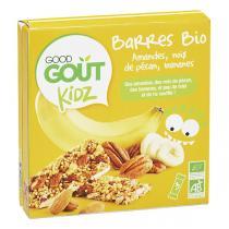 Good Gout - Barres Bio Kidz Amandes banane 60g