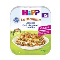Hipp - Lasagnes Petits Légumes Saumon 250g