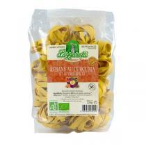 Lazzaretti - Pâtes Rubans Curcuma et autres épices 250g