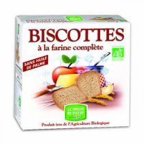 Le Moulin du Pivert - Biscotte Farine complète 270g