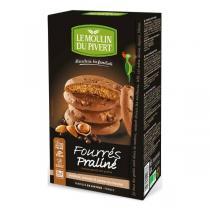Le Moulin du Pivert - Cookies fourrés praliné 175g