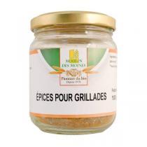 Moulin des Moines - Mélange épices à grillades sans sel 100g