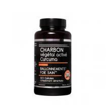 NutriVie - Charbon végétal activé Curcuma 120 gélules