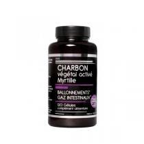 NutriVie - Charbon végétal activé Myrtille 120 gélules