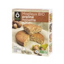 OCérès - Moelleux Praliné Noisette Bio sans gluten 150g