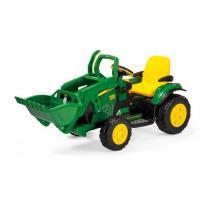 Peg Perego - John Deere Loader - Tracteur 12 volts - Dès 3 ans