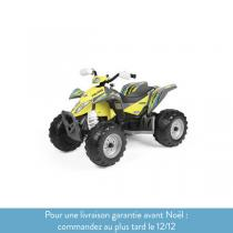 Peg Perego - Polaris Outlaw Citrus - Quad 12 volts - Dès 3 ans