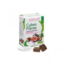 Sofalip - Cubes Fibres bio 10x10g