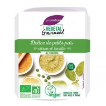 Végétal Gourmand - Délice de petits pois citron et basilic chanvre 150g