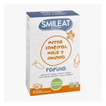 Smileat - Bouillie bébé bio riz maïs et quinoa dès 4 mois 230g
