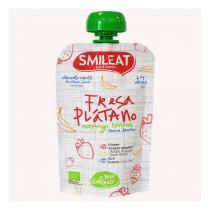 Smileat - Gourde enfant bio Fraise banane dès 4 mois 100g