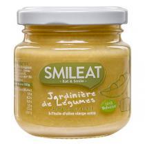 Smileat - Petit pot bébé Jardinière de légumes dès 4 mois 130g
