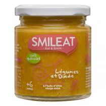 Smileat - Petit pot bébé Légumes dinde dès 6 mois 230g