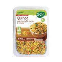 Soy - Quinoa petits légumes et curcuma 300g