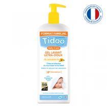 Tidoo - 2 Gels Lavants Ultra Doux Bio 2 en 1 au Calendula 950ml