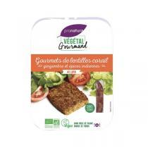 Végétal Gourmand - Gourmets de lentilles corail gingembre et épices 2x90g