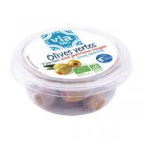 Via Bio - Olives vertes farcies poivrons rouges 125g