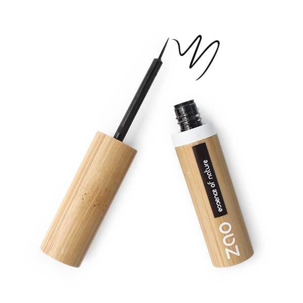 Zao MakeUp - Eyeliner Pinceau 070 Noir intense 4,5g