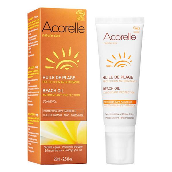 Acorelle - Huile de plage protection anti-oxydante 75ml