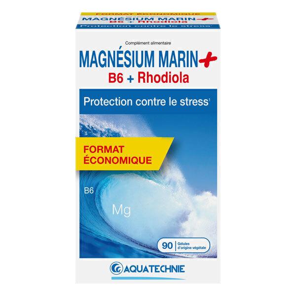 AQUATECHNIE - Magnésium Marin + B6 et Rhodiola 90 gélules