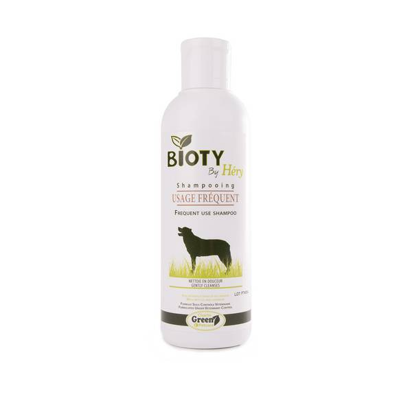 Bioty by Hery - Shampooing usage fréquent chien 200ml