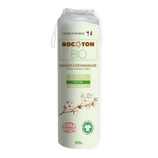 Bocoton Bio - Disques coton à démaquiller Bio x 80
