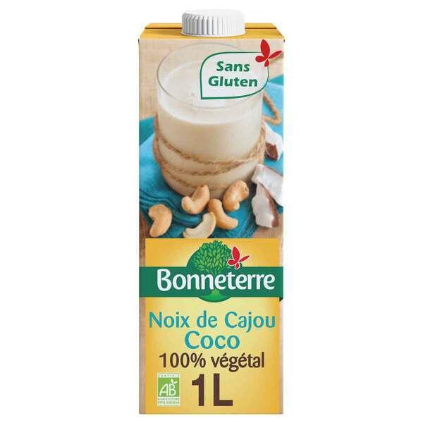 Bonneterre - Boisson Noix de coco et cajou 1L