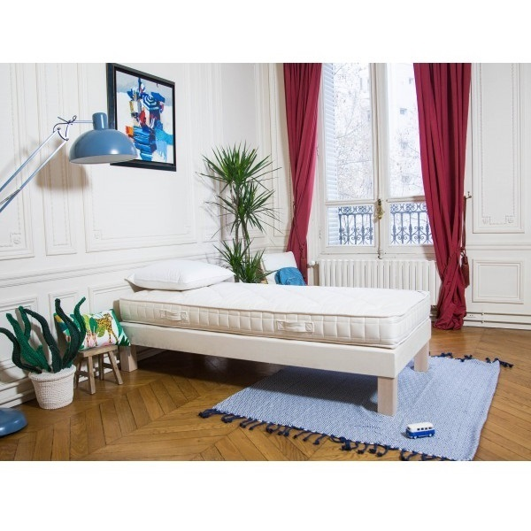 matelas enfant latex naturel 90x200 cm cosme literie acheter sur. Black Bedroom Furniture Sets. Home Design Ideas
