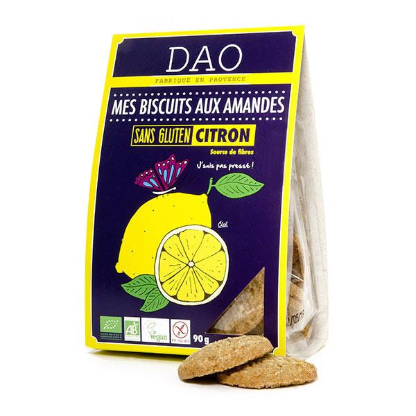 Dao - Biscuits Amandes Citron Sans Gluten 90g