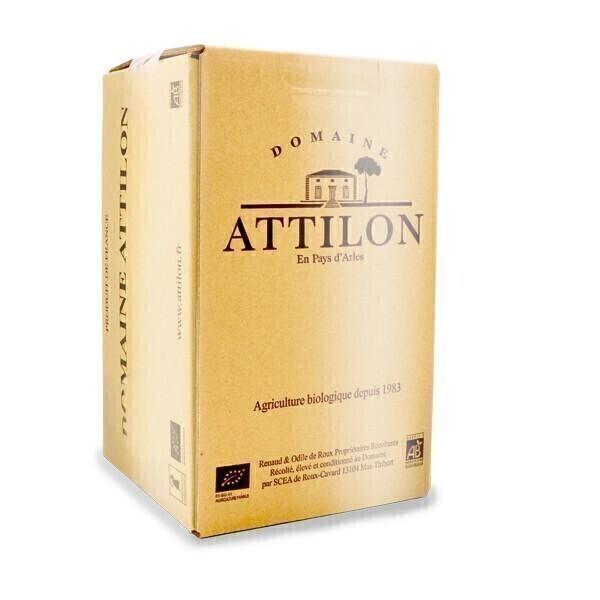 Domaine Attilon - IGP Méditerranée - Blanc sec Bib 5L