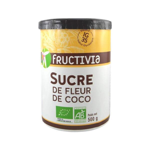 Fructivia - Sucre de fleur de coco 500g