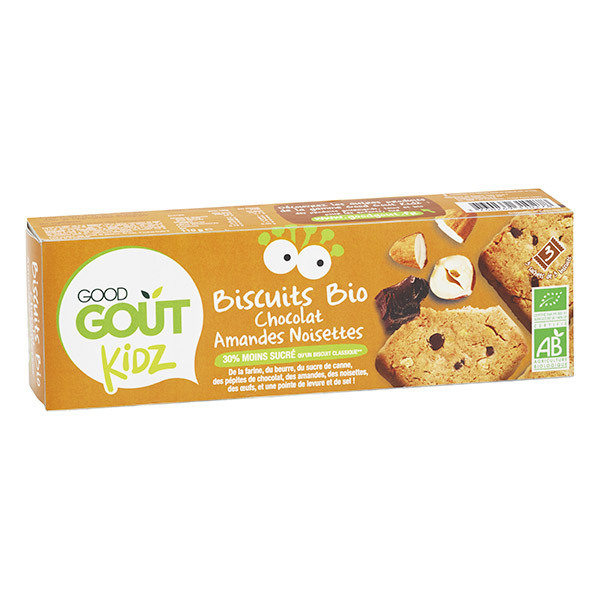 Good Gout - Biscuits bio Kidz amandes noisettes 110g