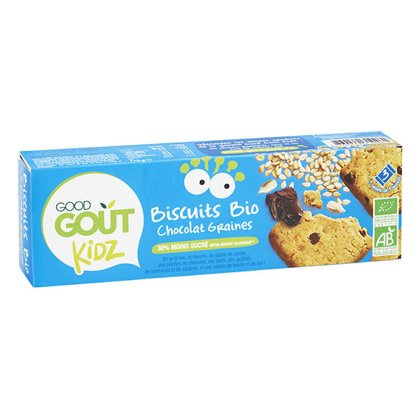 Good Gout - Biscuits bio Kidz Sésame tournesol 110g