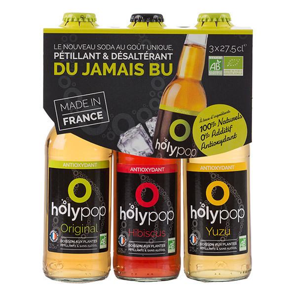 Holypop - Holypop tripack panaché 3 x 27,5cl