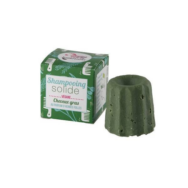 Lamazuna - Shampooing solide cheveux gras Herbes folles 55g