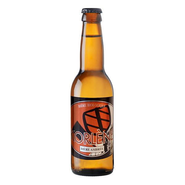 Mélusine - Bière ambrée Korlène Bio 33cl