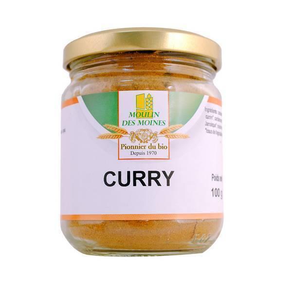 Moulin des Moines - Curry en poudre 100g