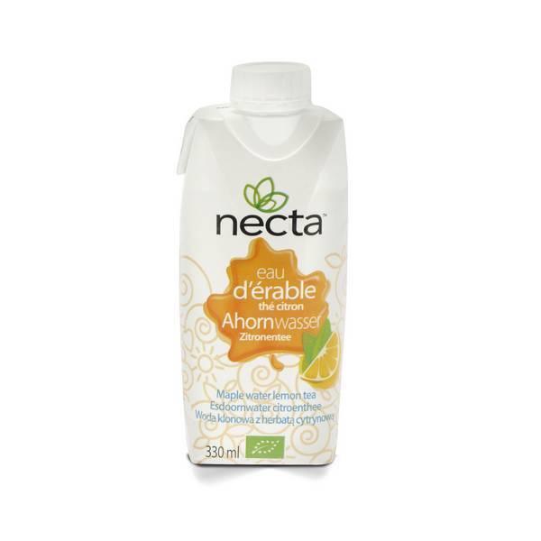 Necta - Eau d'érable thé citron bio 33cl